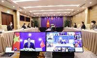 Thủ tướng Phạm Minh Chính đưa ra sáu giải pháp quan trọng tại Phiên thảo luận của Hội nghị P4G 2030
