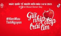 """Giữ nhịp đập trái tim"""", thông điệp đầy tính nhân văn nhân Ngày Quốc tế người hiến máu (14/6)"""