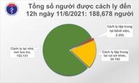 Trưa 11/06, Việt Nam thêm 82 ca mắc COVID-19