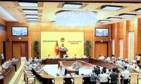 Phiên họp 57 của Ủy ban Thường vụ Quốc hội cho ý kiến vào nhiều nội dung quan trọng