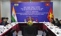 Phát triển hơn nữa mối quan hệ hợp tác giữa Bộ Công an Việt Nam - Hội đồng An ninh quốc gia Ấn Độ
