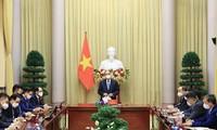 Các doanh nghiệp, các nhà đầu tư Hàn Quốc sẽ chung tay cùng Việt Nam gây dựng Quỹ vaccine phòng COVID-19