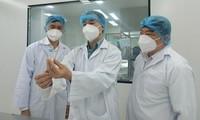 100% đối tượng được tiêm Nanocovax  đều có kháng thể