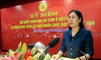 Tỉnh Thái Bình kỷ niệm 60 năm thảm họa da cam ở Việt Nam
