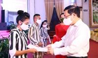 Phó Thủ tướng Phạm Bình Minh dự lễ công bố Quyết định đặc xá tại Thái Nguyên