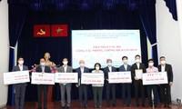 Tổng lãnh sự quán và doanh nghiệp Hàn Quốc tại Thành phố Hồ Chí Minh ủng hộ phòng, chống dịch COVID-19