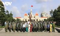 Thành phố Hồ Chí Minh tổ chức tri ân và chia tay lực lượng quân sự tham gia chống dịch