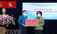 Thành phố Hồ Chí Minh tiếp nhận ủng hộ phòng, chống dịch COVID-19 từ tỉnh Attapeu, Lào