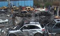 Десятки человек пострадали в результате серии взрывов в Ираке