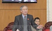 Члены ПК НС СРВ высказали мнения по проекту закона об устройстве местных властей