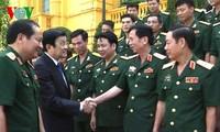 Президент CРВ встретился с лучшими офицерами и преподавателями Академии тылового обеспечения