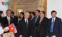 Посольство СРВ в США успешно выполняет задачу по усилению всеобъемлющего партнерства