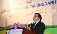 Зеленый рост – необходимое направление развития экономики Вьетнама