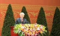 Генсек ЦК КПВ Нгуен Фу Чонг продолжил получать поздравительные телеграммы от международных друзей