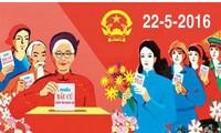 В городе Кантхо открылась фотовыставка в честь выборов в НС СРВ