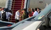 Президент Филиппин начал официальный визит во Вьетнам