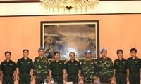 Ещё трое вьетнамских офицеров примут участие в миротворческих миссиях ООН