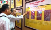 В городе Донгхой открылась выставка, посвящённая суверенитету Вьетнама над Хоангша и Чыонгша