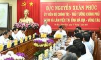 Нгуен Суан Фук провёл рабочую встречу с руководством провинции Бариа-Вунгтау