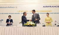 Vietnam Airlines и Air France подписали договор о совместной деятельности