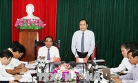 Председатель ЦК ОФВ Чан Тхань Ман посетил провинцию Туенкуанг