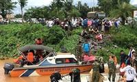 Вьетнам выразил глубокие соболезнования лаосскому народу в связи с прорывом плотины ГЭС