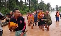 Вьетнам продолжает оказывать Лаосу помощь в ликвидации последствий прорыва плотины ГЭС