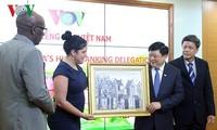 Радио «Голос Вьетнама» и кубинская газета «Granma» активизируют сотрудничество