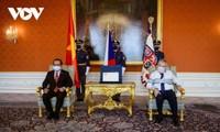Посол Вьетнама Тхай Суан Зунг вручил верительные грамоты президенту Чехии Милошу Земану