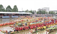 Народность кхмер и её традиционные гонки на лодках «Нго»