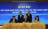 Куангнинь активизирует инвестиционное сотрудничество с иностранными организациями и торговыми представительствами