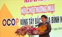 В провинции Хоабинь открылась торговая ярмарка - OCOP  2020