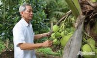 Пенсионер Ле Ван Донг - отличный садовод и общественный активист
