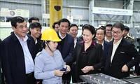 Председатель Национального собрания Нгуен Тхи Ким Нган посетила провинцию Куангнам