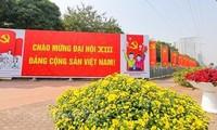 Поздравительные телеграммы в адрес 13-го съезда Компартии Вьетнама