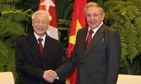 Углубляются отношения между партиями, государствами, правительствами и народами Кубы и Вьетнама