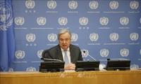 Генсек ООН Антониу Гутерриш призвал Израиль и Палестину не наносить ущерба мирному процессу