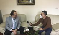 Интервью Чрезвычайного и Полномочного Посла Республики Беларусь в СРВ В.Гошина корреспонденту Радио «Голос Вьетнама».