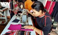 Женщины провинции Даклак развивают ремесло по изготовлению домотканых изделий