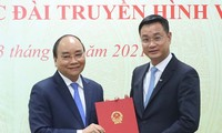 Премьер-министр Нгуен Суан Фук вручил решение о назначении генерального директора Национального телевидения Вьетнама