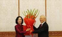 Генсек ЦК КПВ Нгуен Фу Чонг принял участие в церемонии объяления решения Политбюро ЦК КПВ
