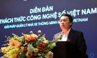 Открылся форум «Вызовы, стоящие перед Вьетнамом в области цифровых технологий»
