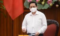 Служебная телеграмма премьер-министра о повышении эффективности работы по профилактике и борьбе с эпидемией COVID-19
