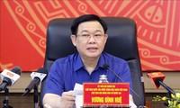 Председатель Нацсобрания Выонг Динь Хюэ посетил Хайфон с рабочим визитом