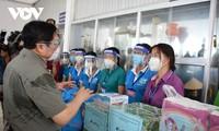 Премьер-министр Фам Минь Чинь: город Хошимин должен воспользоваться временем, чтобы быстро взять под контроль эпидемию