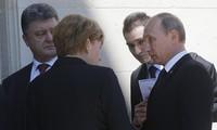 乌克兰、俄罗斯和德国讨论恢复乌东部和平