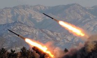 朝鲜试射两枚短程火箭