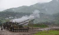 朝鲜谴责韩国大规模炮兵演习