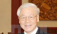 阮富仲对老挝进行正式友好访问:加强越老特殊团结、密切互信和全面合作关系