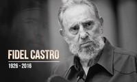 古巴领袖菲德尔·卡斯特罗永远活在越南人民心中